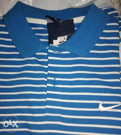 Nike polo shirt size Large NEW with tag