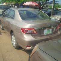 Few Months Nigeria Used Toyota Corolla, 2009, Excellent Condition.