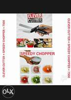 Speedy chopper + clever cutter