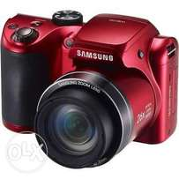 Samsung WB100 Digital Camera (Red) secondhand for sale