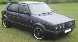 Vw golf for sale R18000