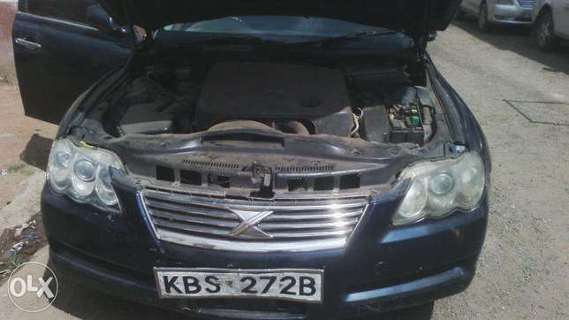 Toyota Mark X, KBS, auto, year 2005, accident free. Parklands - image 6