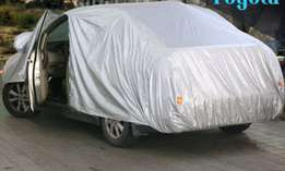 Car cover with thick material & Door inlet.