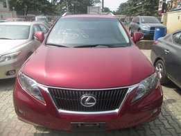 Extremly Clean Tokunbo 2012 Lexus RX350