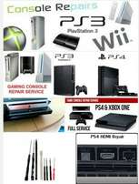 Wii ps3 ps4 ps2 xbox repair and chipping