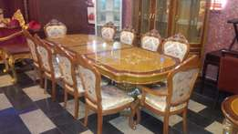 Royal wooden dining table by 10 setters