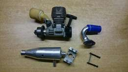 Rc car engine