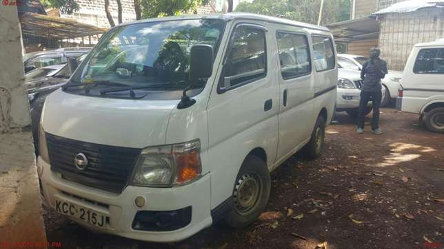 Very clean Nissan Caravan never been used for Magtatu business Highridge - image 1