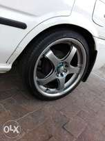 17inch mags with tyres wanting to swop with 15inch