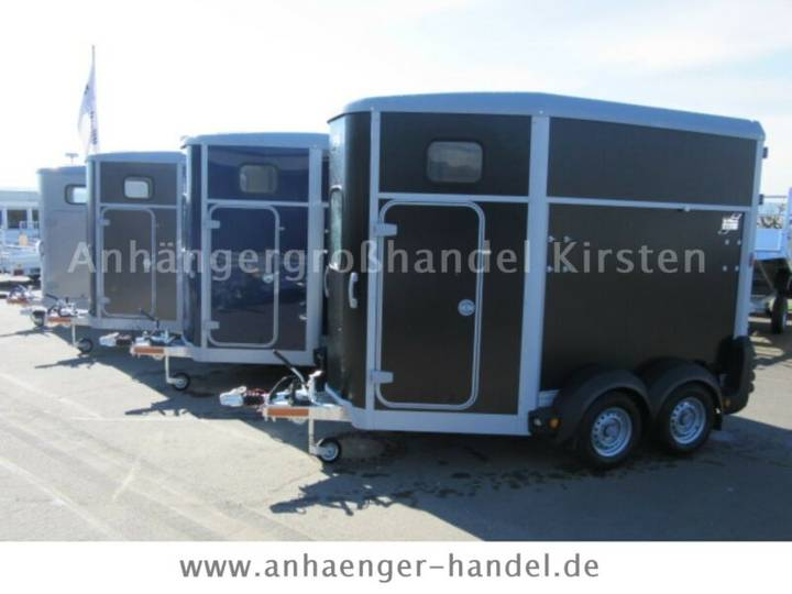 Ifor Williams HB 403/ 506 / 511 ALUBODEN + Frontausstieg - 2019