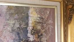 Beautiful painting by Gerrit Roon in beautiful frame