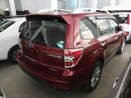 Subaru forester wine red
