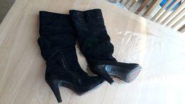 Замшеві Чоботи - Жіноче взуття - OLX.ua c2333570426fc