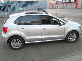 2015 polo tsi 1.2 comfort line in a good condition.