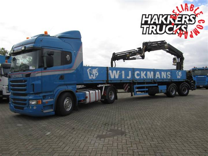 Kwb 2 axle with Hiab 355 with jib, remote - 2005