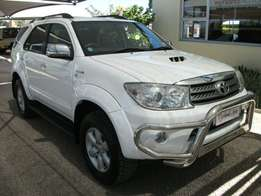 2011 Toyota Fortuner 3.0 D-4D 4x4 Automatic,