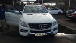 Mercedes-Benz ML 250 Bluetec with 57000 Kilometers for sale.