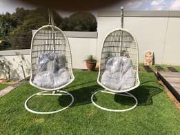 Outdoor swing chairs