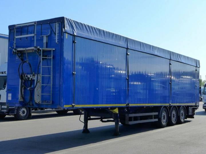 Schmitz Cargobull SW 24 SL G*Schubboden*92m³*Liftachse*Alufelgen* - 2012