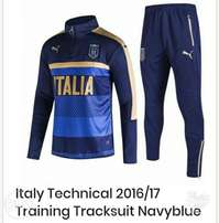 Brand new Italy technical training tracksuit Navyblue