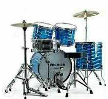 PREMIER DRUM set 5pcs..