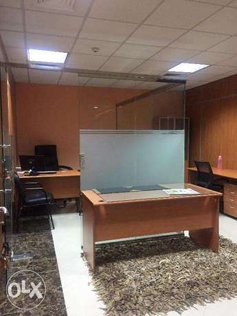 40 SQM 5 person office C ring 6,500 QR One month free المنتزه -  3