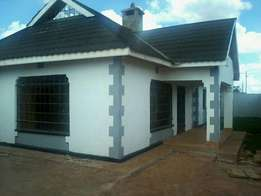 New 3 bedrm House at Ngoingwa few meters from tarmac rd 8.7m neg
