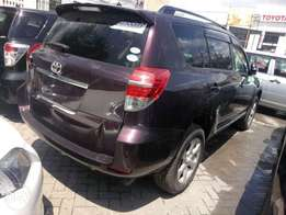 7 seater Vanguard 2010 model Toyota KCN