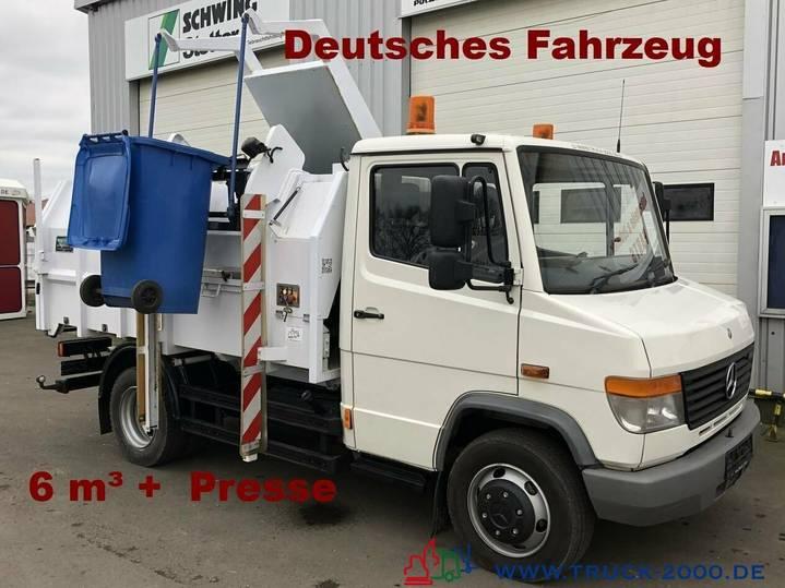Mercedes-Benz 814 D 6m³Seitenlader*Presse*1.Hand*DeutscherLKW - 2005