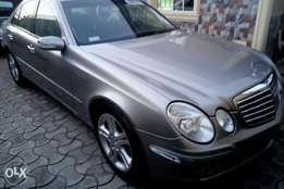 Mercedes-Benz E320 upgraded to 2008