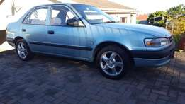 1998 Toyota Corolla 160i GL - good condition. As pix. R49 000 onco