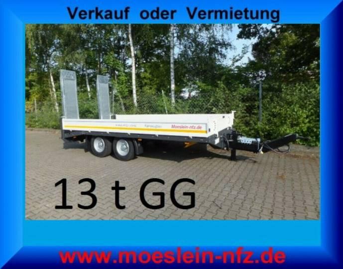 Möslein TTT 13- 6,28 Weiß Neuer Tandemtieflader 13 t GG - 2019