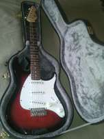Pervey Electric Guitar and Case