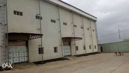 Warehouse at Isolo TO LET