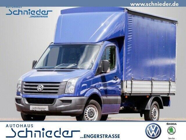 Volkswagen Crafter 35 2.0 BiTDI Pritsche Fahrerhaus L2 mit - 2014