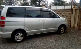 Low Mileage 7seater Toyota Noah