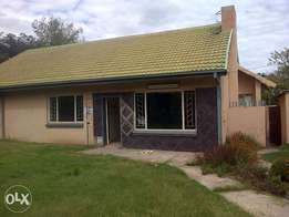 newly renovated house with 2 outside rooms and lock up garage.