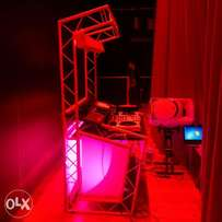 DJ services and lighting effects for your occassion or events