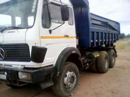 Mercedes Tipper Truck10Cube 2836 for sale