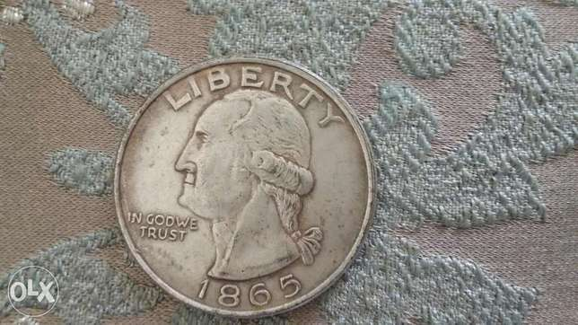 Georege Washington USA Coin