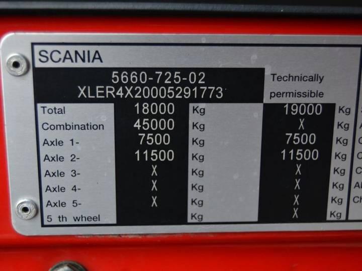 Scania R 500 V8 Hydraulika, Retarder - 2012 - image 15