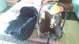 Car seat and Carrycot