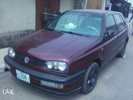 Is Volkswagen golf3 1999 model
