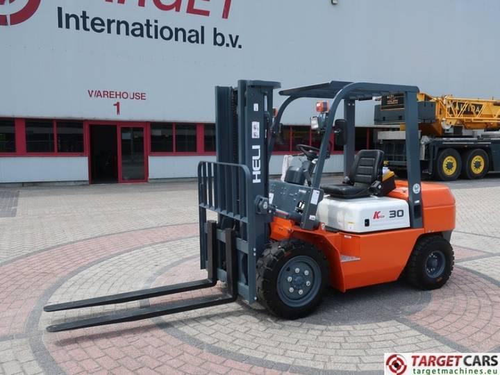 Heli CPCD30 Diesel 3000KG Duplex-300cm Forklift UNUSED