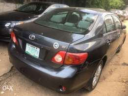 Super clean 2009 first body Toyota Corolla thumb start for quick sale.