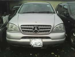 M Benz ML320 for sale