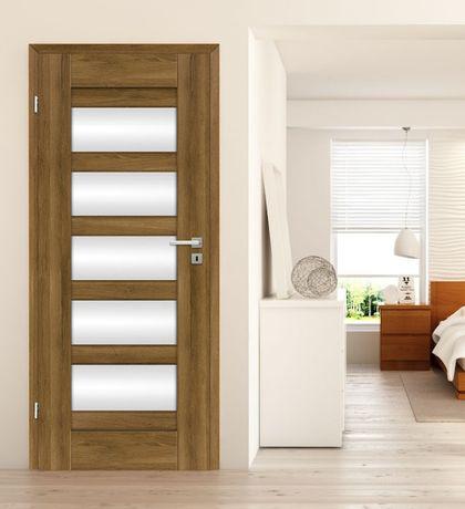 Drzwi Wewnętrzne W 7 Dni Pokój łazienka Szklone Dre Selene