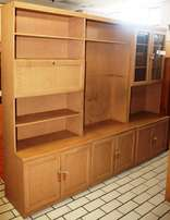 3 Piece Wall Unit Brown S023880A