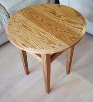 New Solid Ash Display Table. Excellently Crafted.