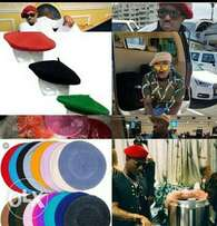 Beret hats available in all colors